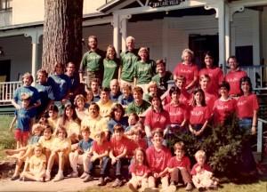 Scheu Family Reunion 1985